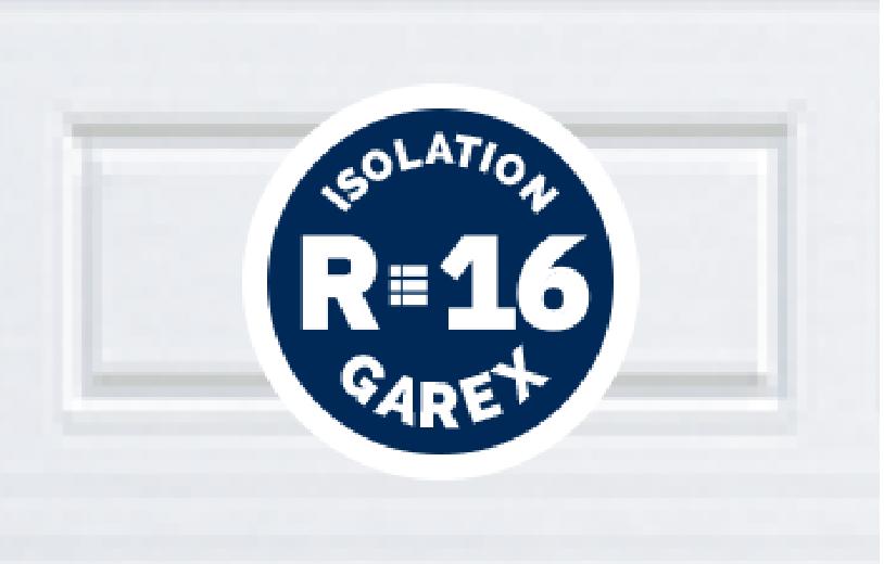 Portes de garage avec Isolation R16