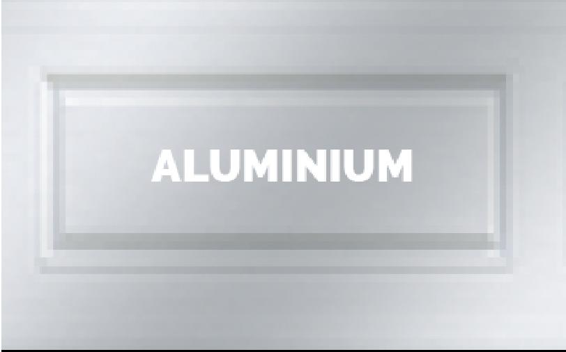 Couleurs aluminium