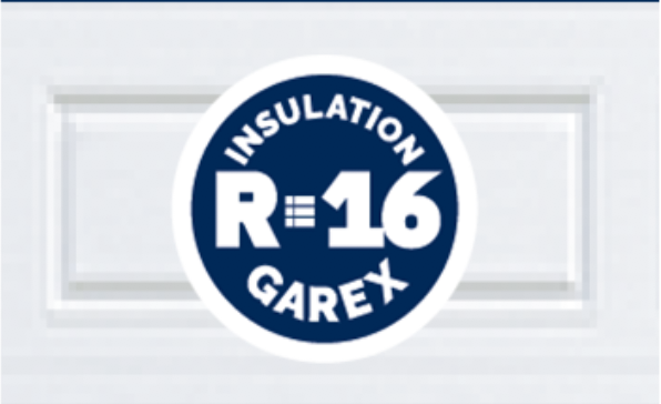 Insulated Garage Doors R16 Factor