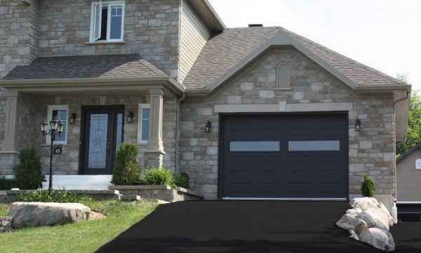 Premium / Noir / Fenêtres scellées claires, cadres peinturés