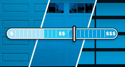 Plusieurs facteurs contribuent à faire varier le coût d'une porte de garage