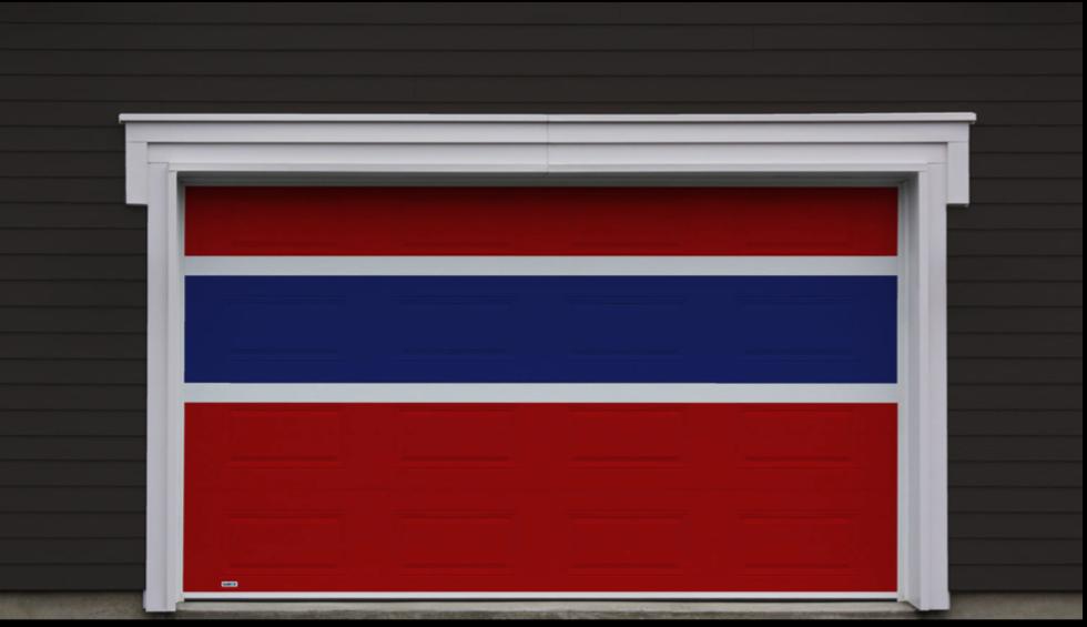 ch garage door color